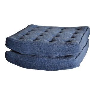 Vintage Dunbar Floor Cushions - a Pair For Sale