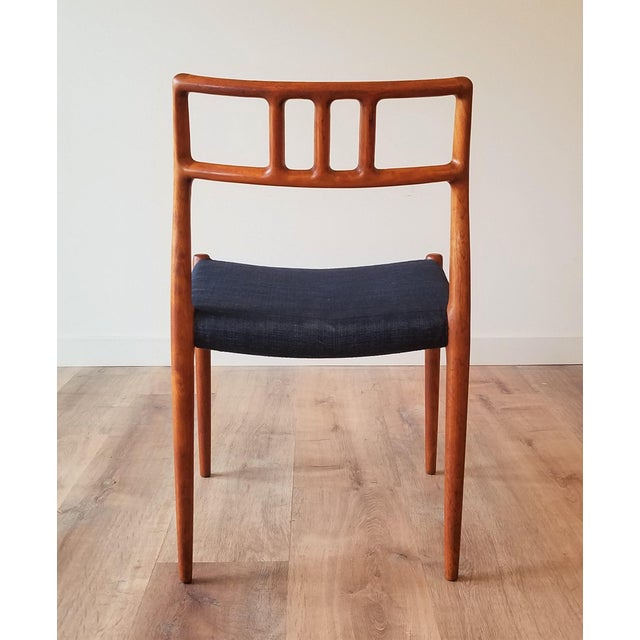Wood 1960s Newly Upholstered Niels Moller Model 79 Side Chairs - Set of 4 For Sale - Image 7 of 13