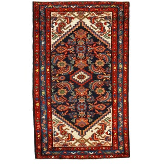 Early 20th Century Antique Persian Rug - 2′6″ × 4′1″ For Sale