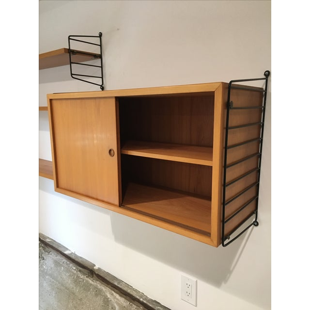 String Shelves and Cabinet by Nisse Strinning - Image 5 of 11