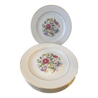 Noritake Chinoiserie Flower Salad Plates - Set of 6