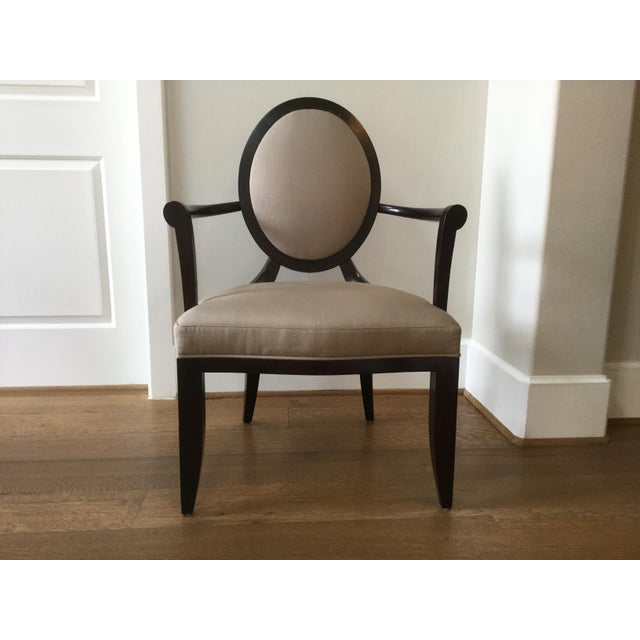 Barbara Barry Oval X-Back Dining Chairs - Set of 8 | Chairish