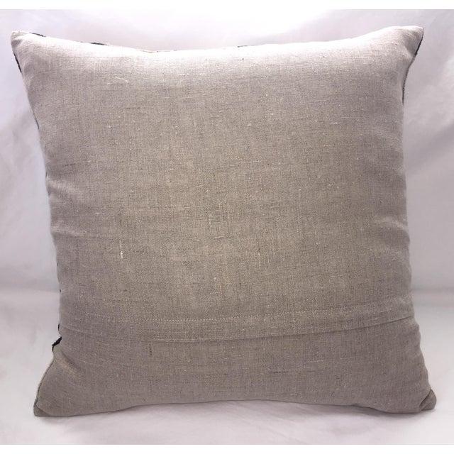 Silk Velvet Ikat Pillow - Image 3 of 3