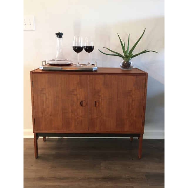 Danish Modern Media/ Bar Cabinet - Image 3 of 10