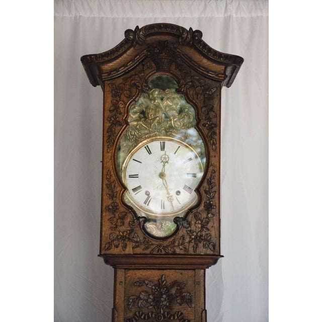 Found in Northern France, this wonderful 18th c. Longcase (grandfather) from the Normandy region of France is truly a...