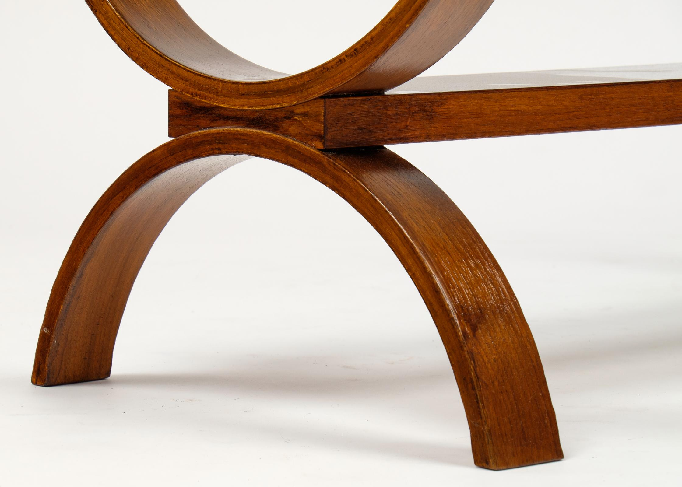 Genial Mid Century Modern Bentwood Coffee Table For Sale   Image 10 Of 10