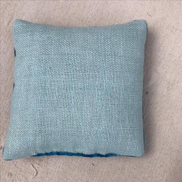 Silk Velvet Lavender Sachet With Applique - Image 4 of 4