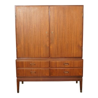 Mid Century Modern Teak Cabinet - Noatun For Sale