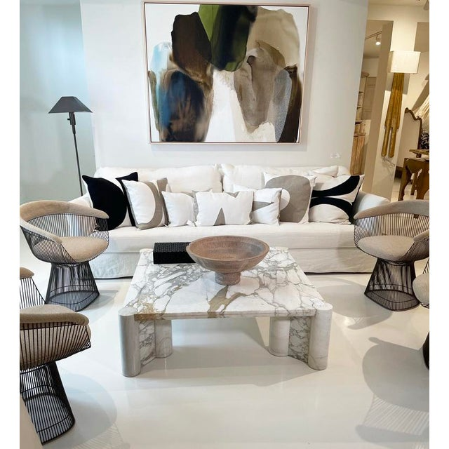 Knoll Gae Aulenti for Knoll Marble Coffee Table For Sale - Image 4 of 5