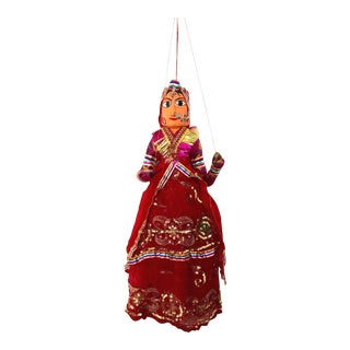 Vintage Hand Made Rajasthani Puppet Doll