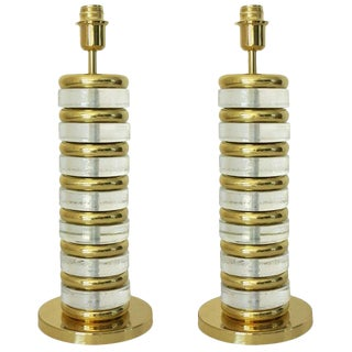 Pair of Torre Lamps by Fabio Ltd (2 Pairs Available) For Sale