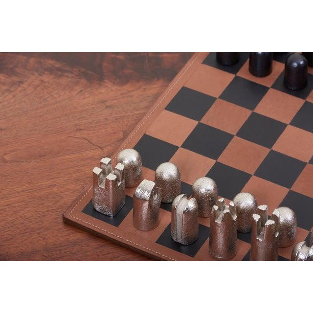 Modernist Chess Set #5606 by Carl Auböck For Sale - Image 6 of 11