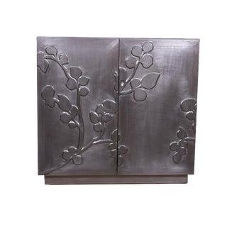 Contemporary Metal Gaetan Cabinet