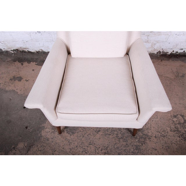Wood Paul McCobb Planner Group Mid-Century Modern Lounge Chair C. 1950s For Sale - Image 7 of 11