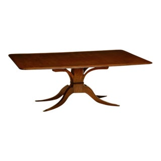 Traditional Holly Hunt Mahogany Rose Tarlow Pickwick Dining Table For Sale