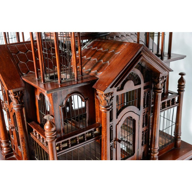 Architectural Bird Cage For Sale - Image 4 of 12