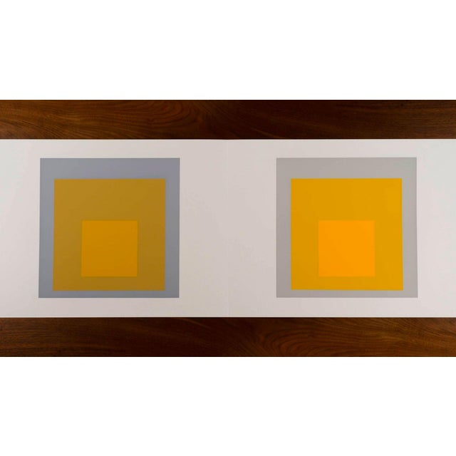 Josef Albers Formulations - Articulations I & II 1972 screenprint on paper Embossed with Josef Albers initials, portfolio...