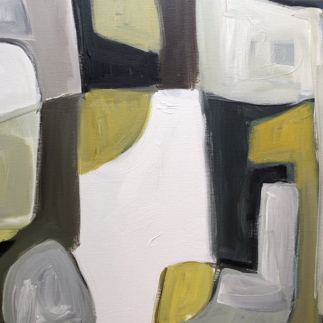 Original Contemporary Abstract Modernist Stewart Ross Painting Framed For Sale - Image 4 of 7