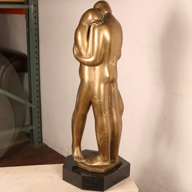 Lovers Sculpture by Louis Derbré - Image 3 of 11