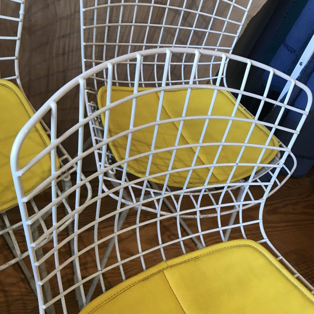 1950s Vintage Harry Bertoia Child's Chairs - Set of 3 For Sale - Image 9 of 11