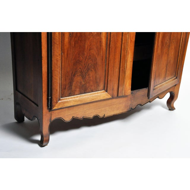 French Walnut Armoire For Sale - Image 12 of 13