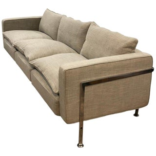 Robert Haussmann 3 Seat Sofa Rh 302 for Hans Kaufeld or De Sede.