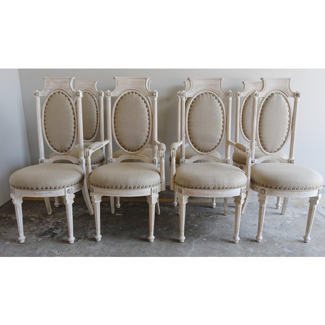 Italian Style Dining Chairs - Set of 8 - Image 2 of 10