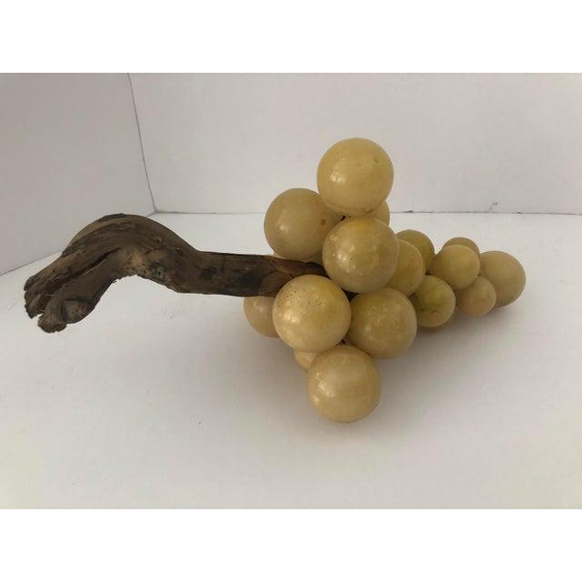 1960s Vintage Italian Alabaster Grapes For Sale - Image 5 of 8