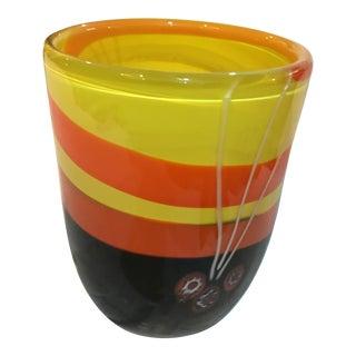 Michael Segerberg for Larson Signed Art Vase