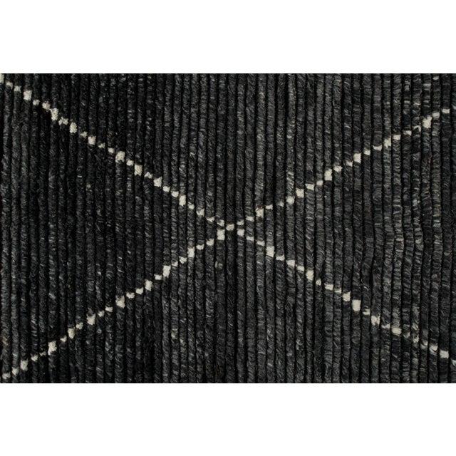 "Stark Studio Rugs Stark Studio Rugs Baha Rug in Asphalt, 8'0"" x 10'0"" For Sale - Image 4 of 5"