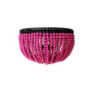 Alexa Pink Flush Mount Fixture For Sale