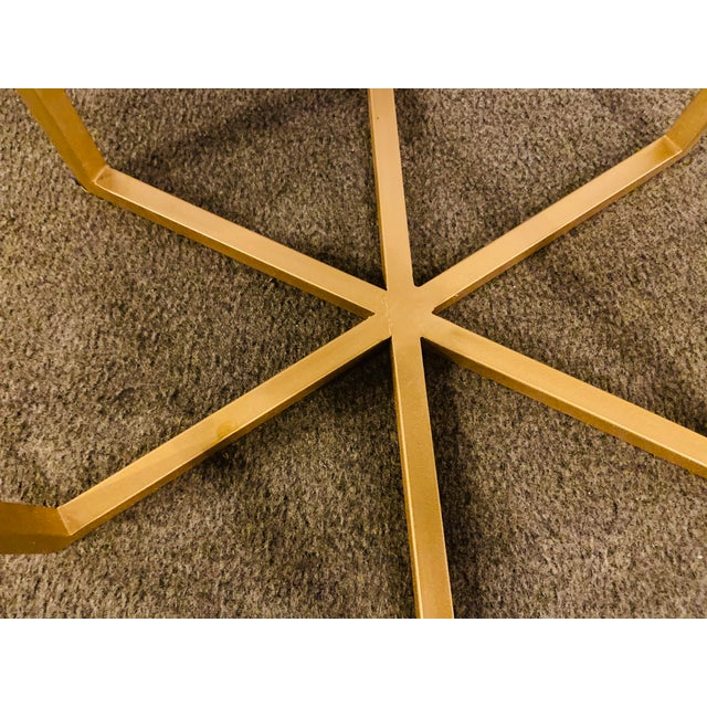 Moroccan Brass Side Table For Sale - Image 9 of 13