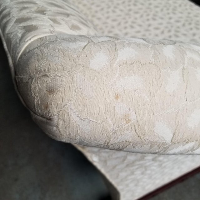Hickory Chair Co Historic James River Collection Carved Chippendale Camelback Sofa For Sale - Image 12 of 13