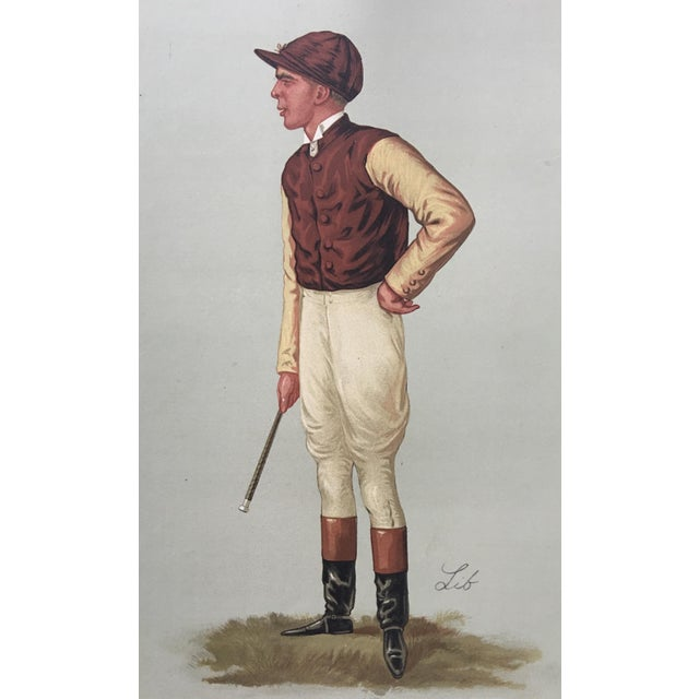 1887 Original Vanity Fair George Barrett Jockey Print - Image 2 of 3