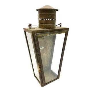 Vintage Brass Lantern For Sale