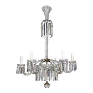 19th Century Restored Crystal Baccarat Chandelier For Sale
