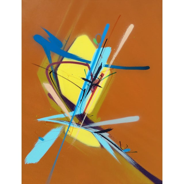 """Bob Peck """"High Noon"""" Painting - Image 1 of 2"""