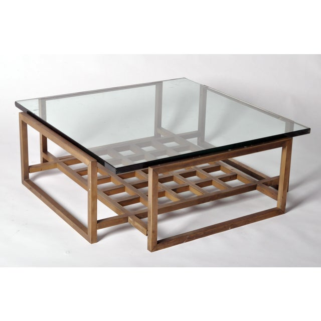 French French Vintage Bronze Coffee Table For Sale - Image 3 of 8