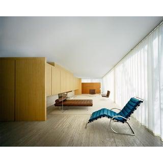 FRANCOIS DISCHINGER Mies van der Rohe Farnsworth House, Interior For Sale