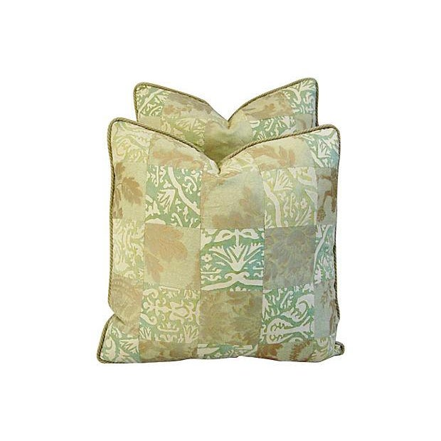 Fortuny Piazetta & Boucher Pillows - A Pair - Image 5 of 6