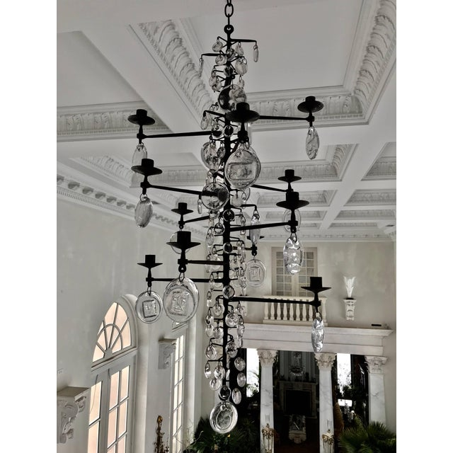 Eric Hoglund Chandelier For Sale In Boston - Image 6 of 8