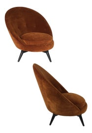 Image of Jean Royère Accent Chairs