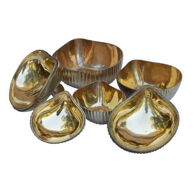 Brass Apple Shaped Trinket Boxes, Set of 3 For Sale - Image 4 of 6
