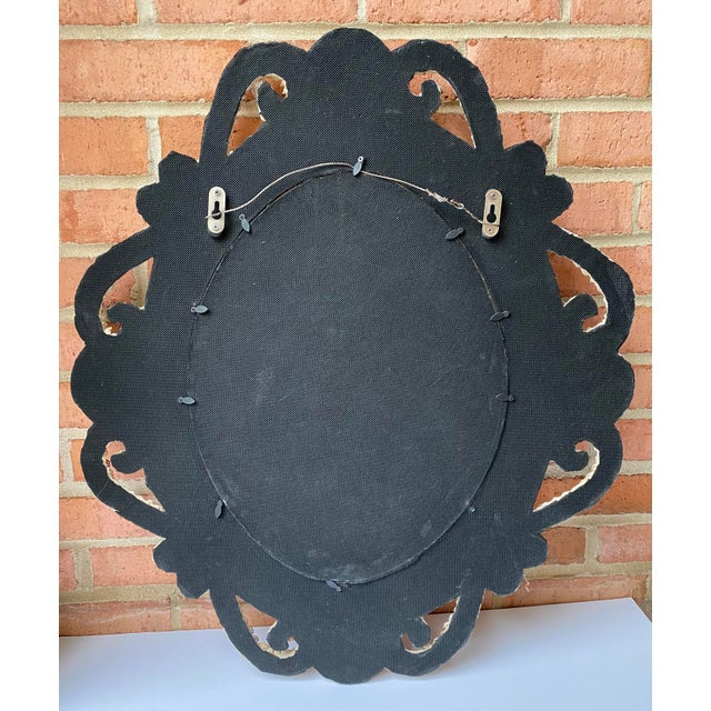 Hollywood Regency Style Shell Encrusted Mirror For Sale - Image 12 of 13