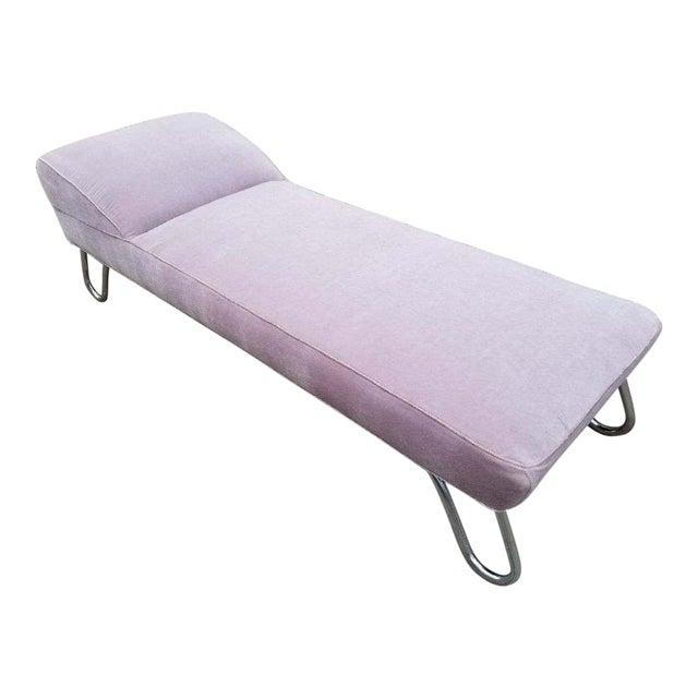 Kem Weber Streamline Art Deco Moderne Chaise Lounge Chairish