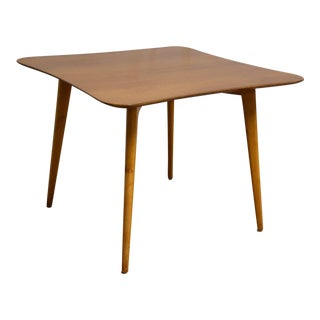 Renzo Rutili Solid Cherry Dinette Table For Sale