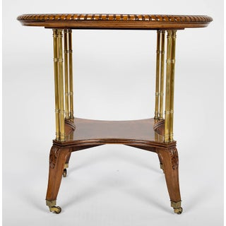Victorian Burl Walnut Table by Holland & Sons Preview
