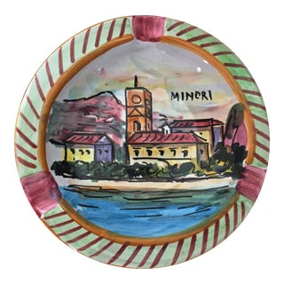 Vintage Italian Ashtray-Amalfi Coast