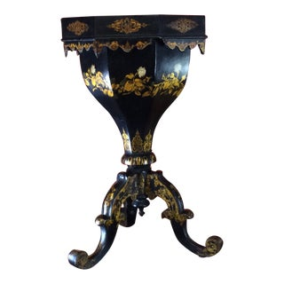 19th Century Antique English Regency Chinoiserie Brighton Pavilion Plant Stand For Sale