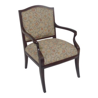 Americana Lounge Chair With Tapestry Fabric